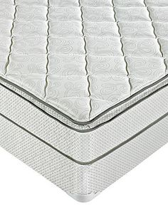 $387 from Macy's Macybed Select Plush Pillowtop Full Mattress Set - Full Mattresses - mattresses - Macy's