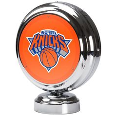 Trademark NBA Chrome Retro Style Neon Tabletop Clock - NBA1410-