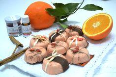 jabón artesano de naranja y canela