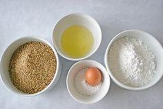 Zutaten für die Fülle Eggs, Pudding, Fruit, Breakfast, Desserts, Food, Oatmeal, Food And Drinks, Food Food