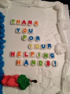 Special words going out to some very special people who gave a helping hand by supporting our Helping Hands Barbeque for Hope event.