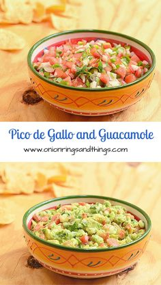 fresh salsa made with tomatoes, onions, jalapenos, cilantro and a spritz of lime juice; easily turn it to guacamole with a few avocados