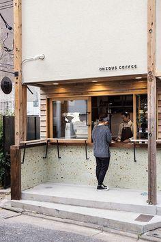 Cozy Coffee Shop Decoration Ideas - We Otomotive Info Deco Restaurant, Tokyo Restaurant, Restaurant Design, Coffee Shop Japan, Cozy Coffee Shop, Coffee Store, Cafe Shop Design, Small Cafe Design, Cafe Exterior