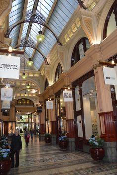 My Art. Melbourne Australia Royal Arcade.