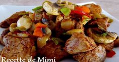 Marinated pork tenderloin cubes, a bag of onion soup and a little maple syrup! - Recipes - My Fork Baguette, Pork Recipes, Cooking Recipes, Syrup Recipes, Cube Recipe, Marinated Pork Tenderloins, Pork Ham, Delicious Magazine, Beef Casserole
