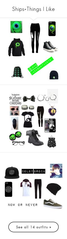 """Ships+Things I Like"" by emo-kid1-1 ❤ liked on Polyvore featuring WithChic, Converse, art, Frame, Vans, men's fashion, menswear, Topshop, Hot Topic and EyeBuyDirect.com"