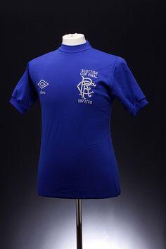 Glasgow Rangers Football Shirt (1978 Scottish Cup Final)