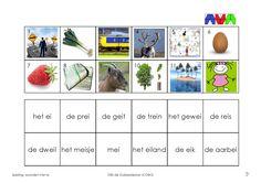 EI 1 Spelling, Learning, School, Initials, Games, Eggs, Studying, Teaching, Onderwijs