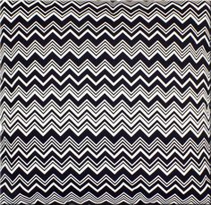 Missoni fabric, in black and white