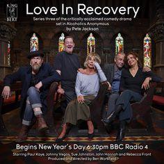 Love in Recovery - series 3 Paul Kaye, Rebecca Front, Johnny Vegas, John Hannah, Bbc Radio, Series 3, Recovery, Comedy, Jackson