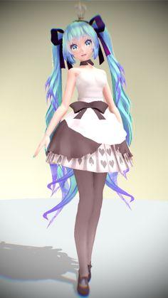 TDA Hatsune Miku Descargar !! por KiiroKitsune99