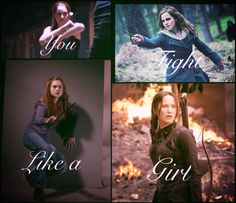 Tris Prior• Hermione Granger •Ginny Weasley• Katniss Everdeen