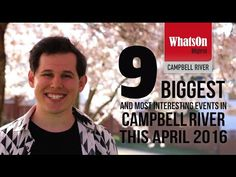 Here is April's top 9 events happening in Campbell River. Brought to you from the most beautiful suburban street in Campbell River! Events, River, Tops, Rivers