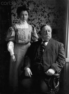 helen taft manning | President William Howard Taft and Daughter Helen - IH178777 - Rights ...
