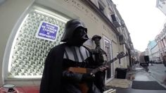 WATCH / Darth Vader visits Russia...