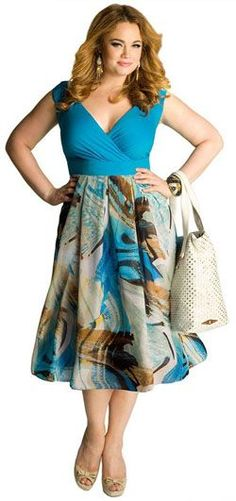 Aruba Plus Size Dress