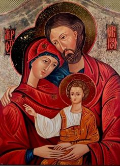 Feast of the Holy Family: The Christian Family is a Domestic Church - Living Faith - Home & Family - News - Catholic Online Catholic Art, Religious Art, Catholic Beliefs, Catholic Store, Catholic Online, Catholic Prayers, Religious Icons, Jesus E Maria, Family Poster