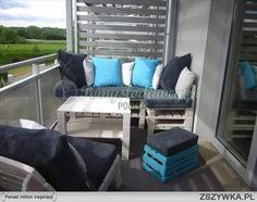 siedzisko z palet na balkon - Szukaj w Google