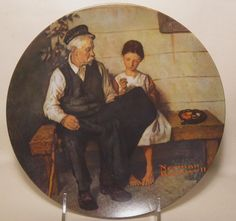"""""""The Lighthouse Keeper's Daughter"""" By Norman Rockwell - Limited edition Plate - $36.99"""