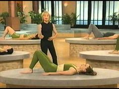 Windsor Pilates 20 Minute Workout - this is great! Not that hard, but effective