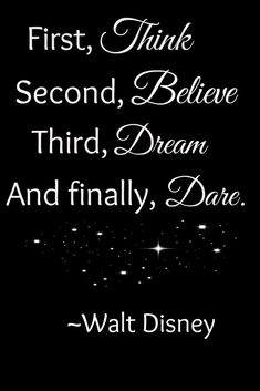 Disney Believe Quote