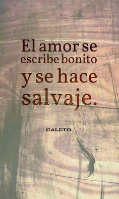 El amor se escribe bonito...