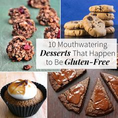 Going g-free is a breeze when you've got these dessert recipes that are delicious (and just happen to be gluten-free).