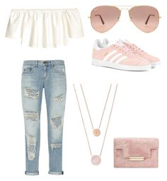 """""""Lifted"""" by ivis-g ❤ liked on Polyvore featuring rag & bone, adidas Originals, H&M, Michael Kors and Ray-Ban"""