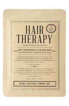 Kocostar Hair Therapy Deep Conditioning Steam Hair Wrap | Nordstrom