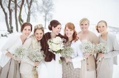 Five reasons to have a winter wedding!