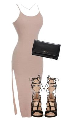 "Shop the look with our ""So Nude"" dress from alyannaclohing.com❥✧➳ Pinterest: miabutler ✧♕☾♡"