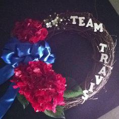 Travis AFB memorial wreath