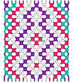 Normal Pattern  11089 added by KotinKandy Vzory Náramkov Priateľstva 7720ffa9a4a