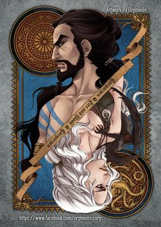Illustration: Game of Thrones Cards by Orpheelin