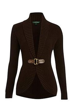 Love this brown sweater/cardigan!!  So cute!