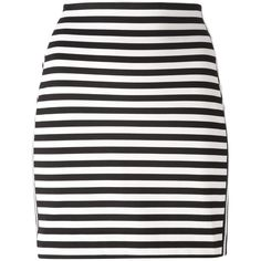 Michael Michael Kors Striped Mini Skirt ($79) ❤ liked on Polyvore featuring skirts, mini skirts, bottoms, saias, black, mini skirt, short mini skirts, striped short skirt, striped skirt and michael michael kors