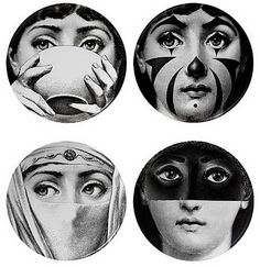 Fornasetti renditions of lina