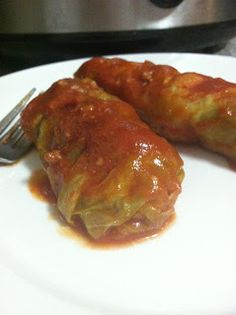 They Call It Falling For A Reason: Paleo Beef Cabbage Rolls