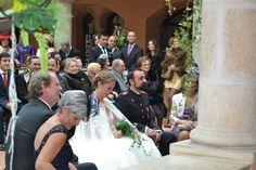 Rebeca y Manuel disfrutan cada momento. #boda #ceremonia