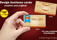 eicdesigner: design and create a business card to ensure you with your contacts and profession for $5, on fiverr.com