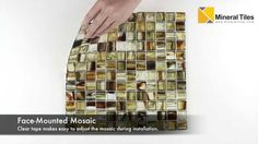 Stained Glass Mosaic Tile Egypt 1x1 - 120HIRHIAR1993MB11 - http://www.mineraltiles.com/stained-glass-mosaic-tile-egypt-1x1