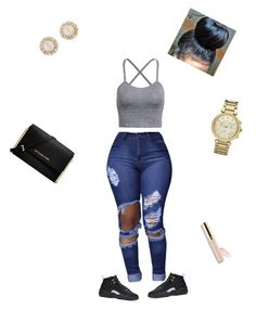 """""""Summer time """" by baybeebrii on Polyvore featuring NIKE, Michael Kors and Kate Spade"""