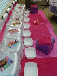 American Girl Spa Party | CatchMyParty.com