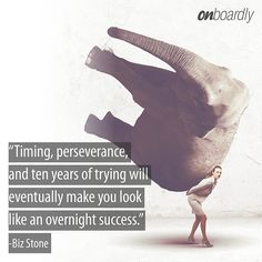 """""""Timing, perseverance, and ten years of trying will eventually make you look like an overnight success""""- Startup Quotes, You Look Like, Monday Motivation, Success, Photo And Video, Movie Posters, How To Make, Instagram, Film Posters"""
