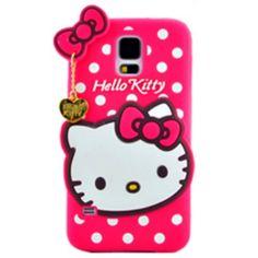 Θήκη 3D Hello Kitty για Samsung Galaxy S5 αποκλειστικά και μόνο απο την ecase.gr