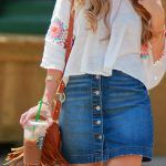 Awesome 50 Summer Weekend Outfit Ideas https://fashiotopia.com/2017/04/24/50-summer-weekend-outfit-ideas/ You may put on a skinny jacket to grow the classy appearance, while maintaining the casual appeal. You are even permitted to elect for wearing an offi...