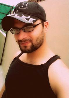 #Beard #Me #Beardlook #sunday #Morning #selfie #All #Black