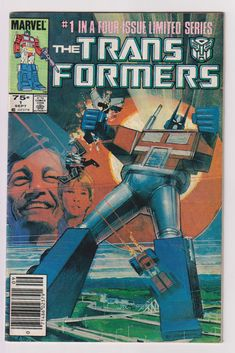 644 best Marvel Comic Books   TeamVintageUSA images on Pinterest Transformers  Vol 1  1  1st Printing  Copper Age Comic Book  VG