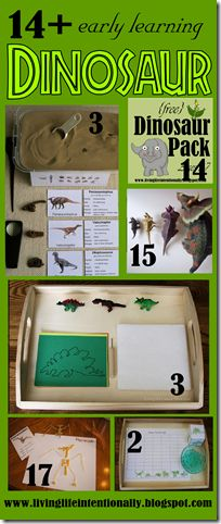 Help kids learn about dinosaurs with these fun, educational dinosaur ideas for preschool, kindergarten and elementary age kids.