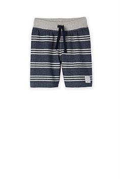 Stripe Sweat Short